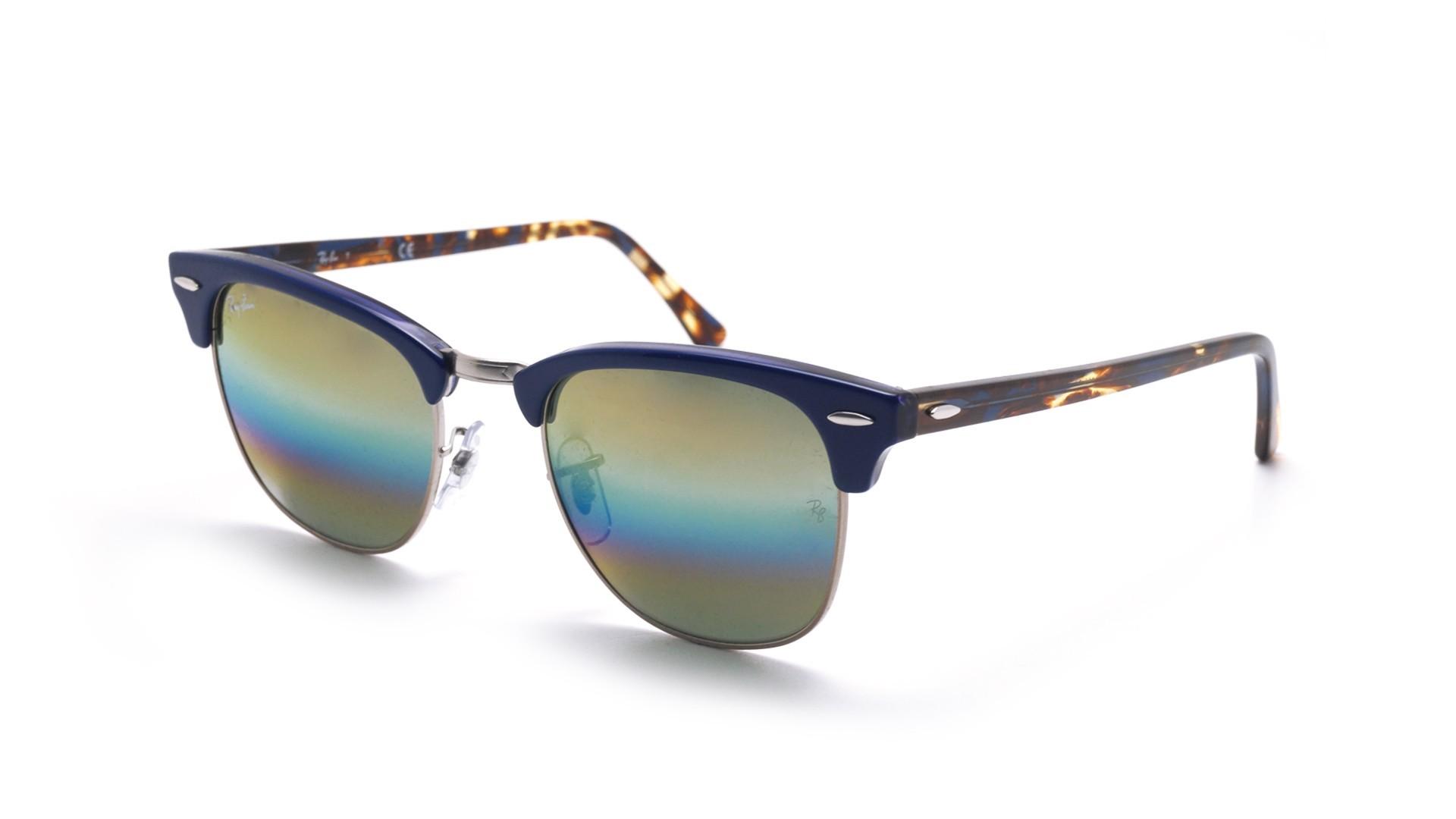 1f984504422 ... authentic sunglasses ray ban clubmaster blue rb3016 1223c4 49 21 small  gradient mirror 1465f e1651