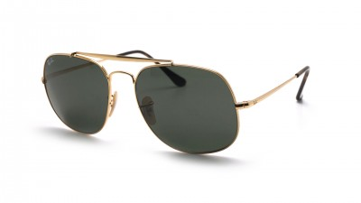 Ray-Ban General Gold RB3561 001 57-17 G-15 Breit