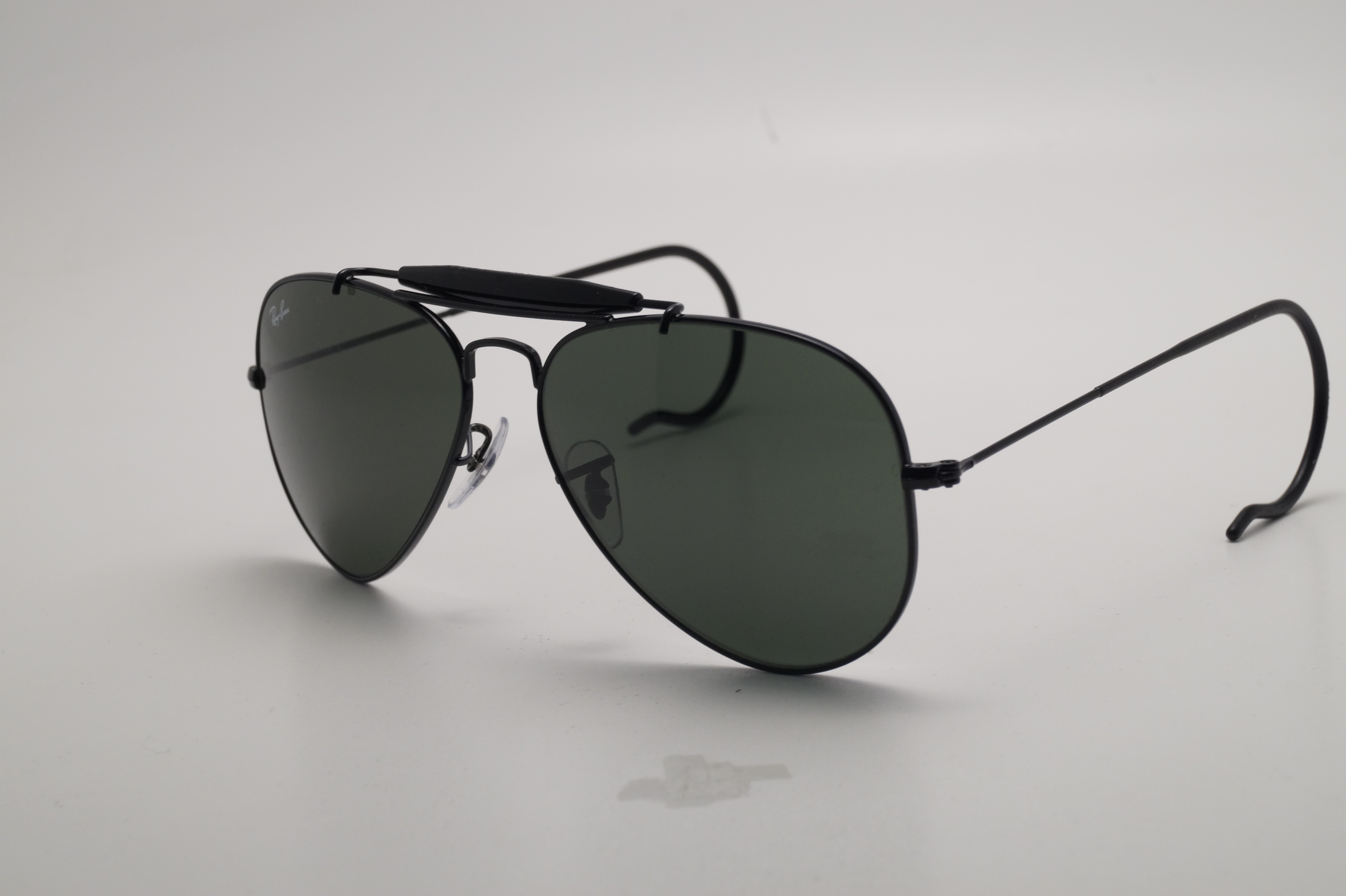 Ray Ban Outdoorsman Black G 15 Rb3030 L9500 58 14 Large