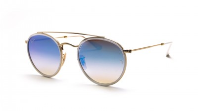 Ray-Ban Round Double Bridge Gold RB3647N 001/4O 51-22 113,94 €