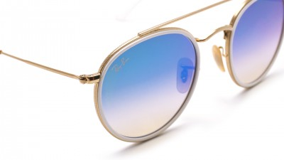 Ray-Ban Round Double Bridge Or RB3647N 001/4O 51-22
