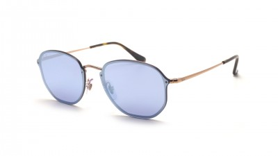 Ray-Ban Hexagonal Blaze Argent RB3579N 90351U 58-15 87,92 €