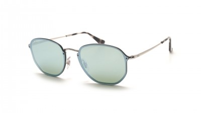Ray-Ban Hexagonal Blaze Argent RB3579N 003/30 58-15 113,90 €