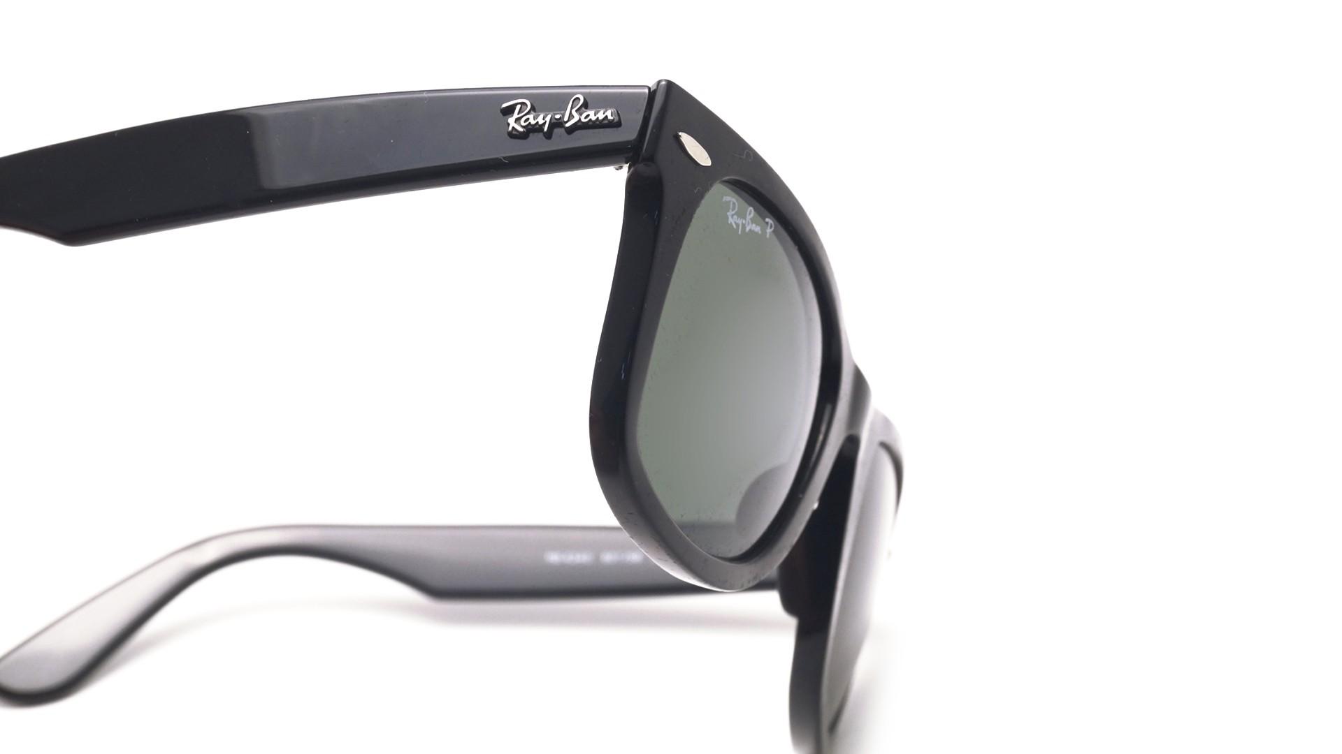 23fdc2304c6 ... promo code sunglasses ray ban wayfarer ease black rb4340 601 58 50 22  medium polarized 2accf