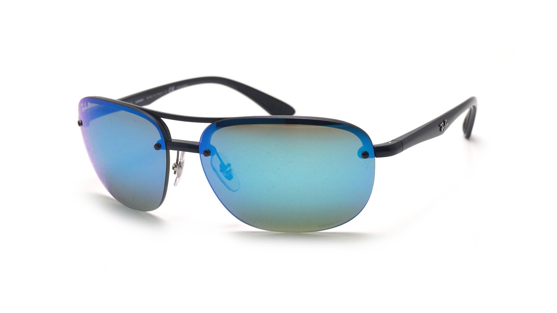4615b32848 ... authentic sunglasses ray ban rb4275ch 601 a1 63 15 black chromance  large polarized mirror de03b 70d7a
