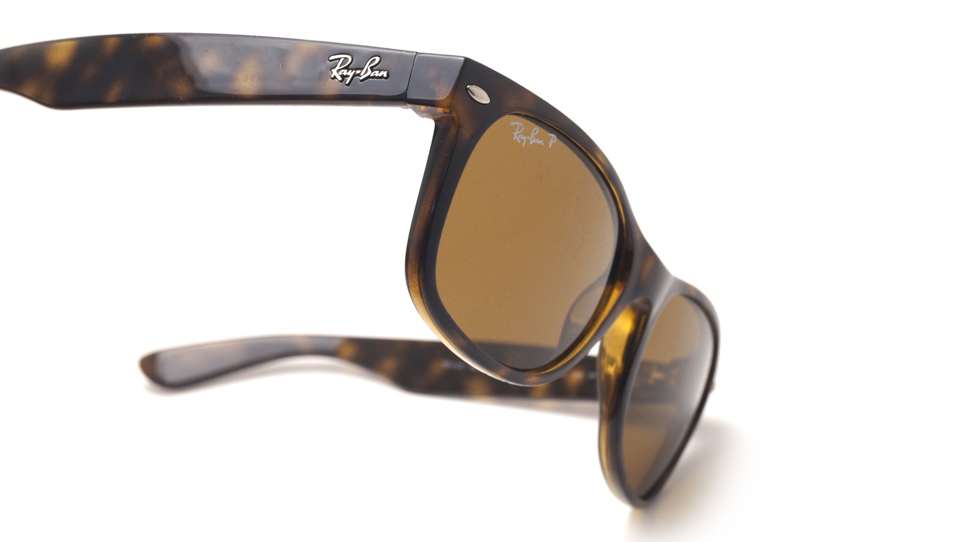 31a9890bbbf ... order sunglasses ray ban new wayfarer tortoise rb2132 902 57 55 18  large polarized 3b157 86826