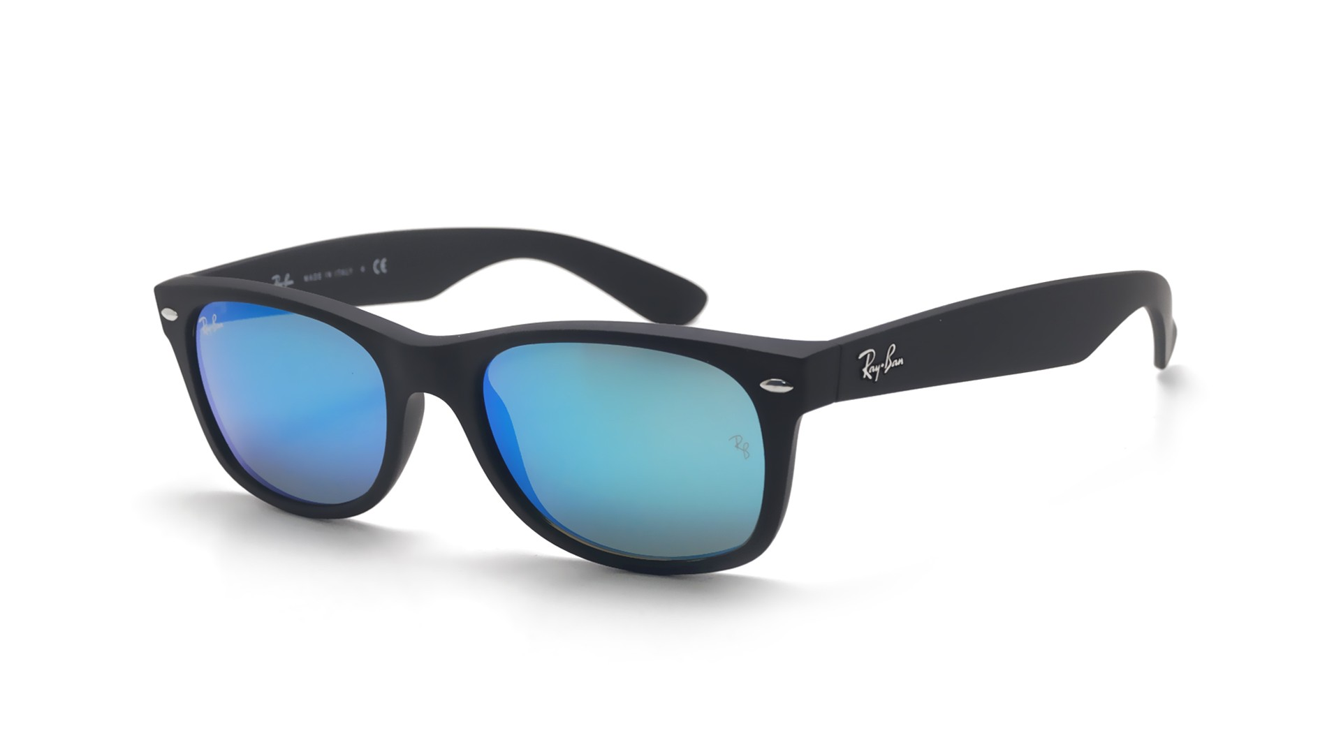 ... coupon for lunettes de soleil ray ban new wayfarer noir mat rb2132 622  17 52 18 dffb3e275b17