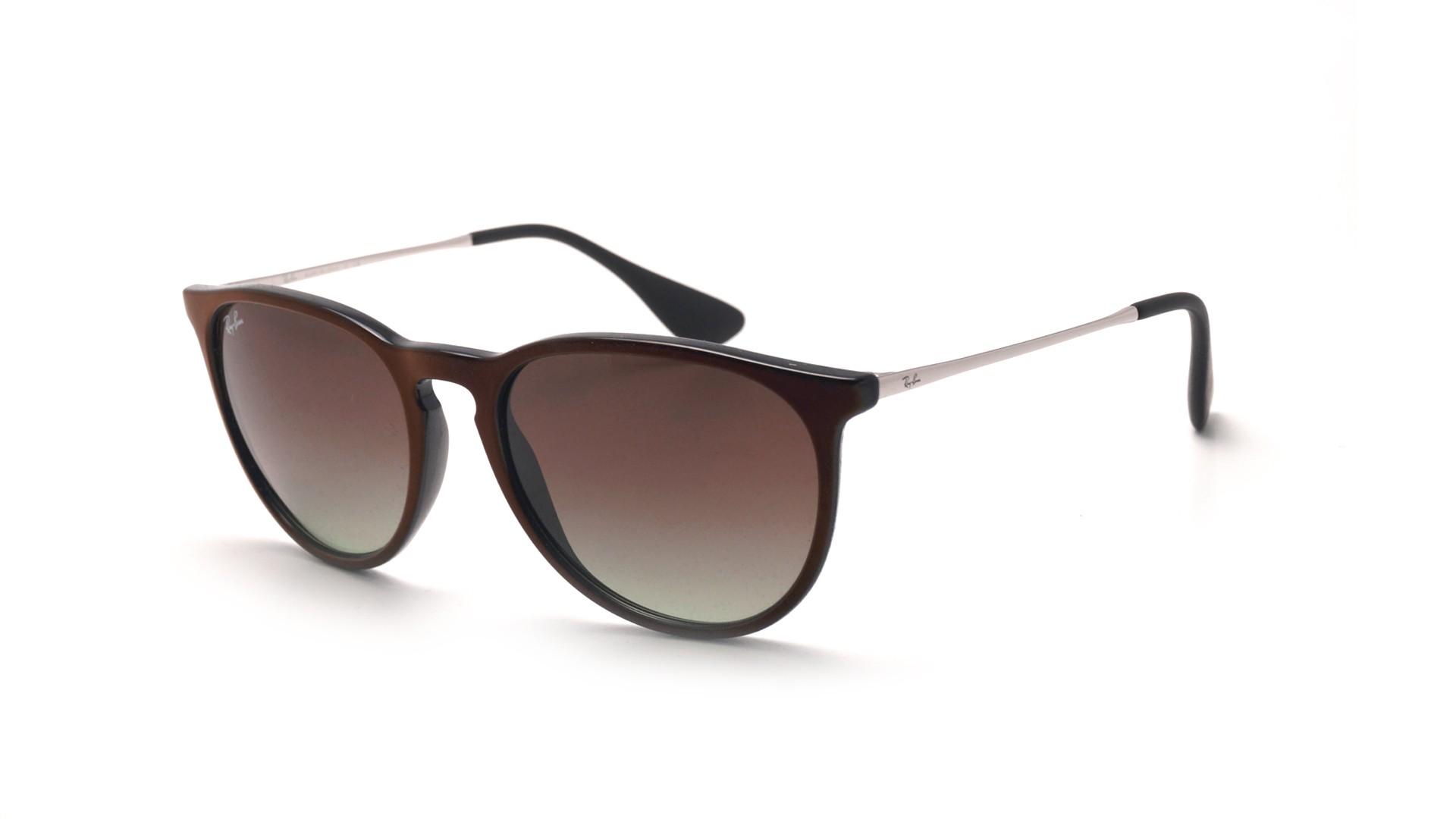 ray ban erika sunglasses brown