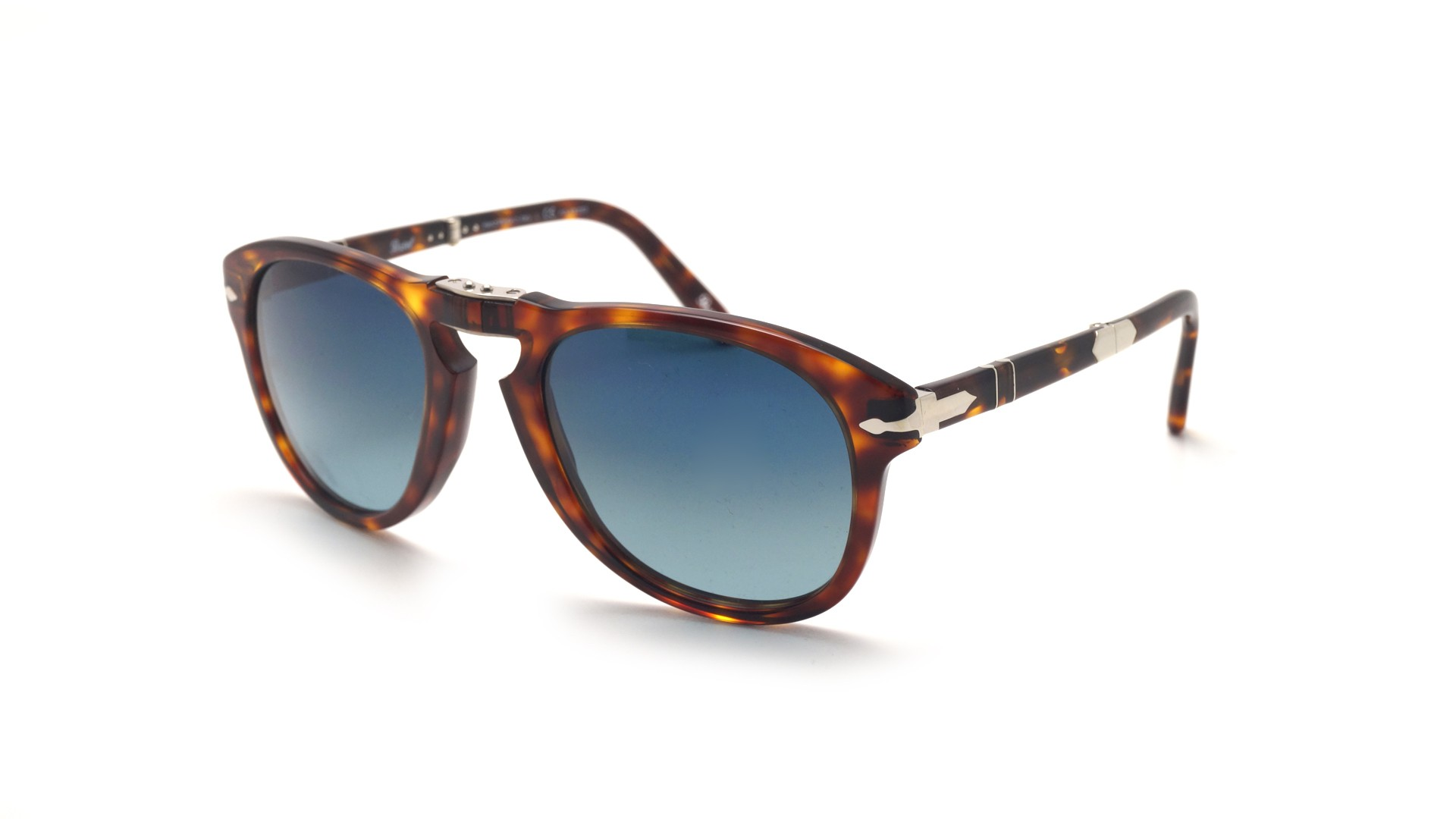 af208db491c9 Sunglasses Persol Steve Mcqueen Tortoise PO0714SM 24/S3 52-21 Medium Folding  Polarized Gradient