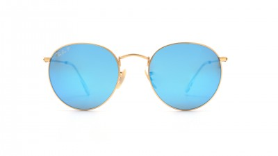 Ray-Ban P Round Metal Or RB3447 112/4L 50-21 Polarisés