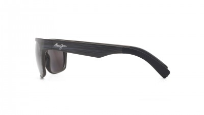 Maui Jim Kahi Grey Matte 736 63W 57-18 Polarized