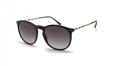 Burberry BE4250Q 3001/8G 54-19 Black Medium Degraded