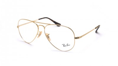 Ray-Ban Aviator Optics Gold RX6489 RB6489 2500 58-14 Large