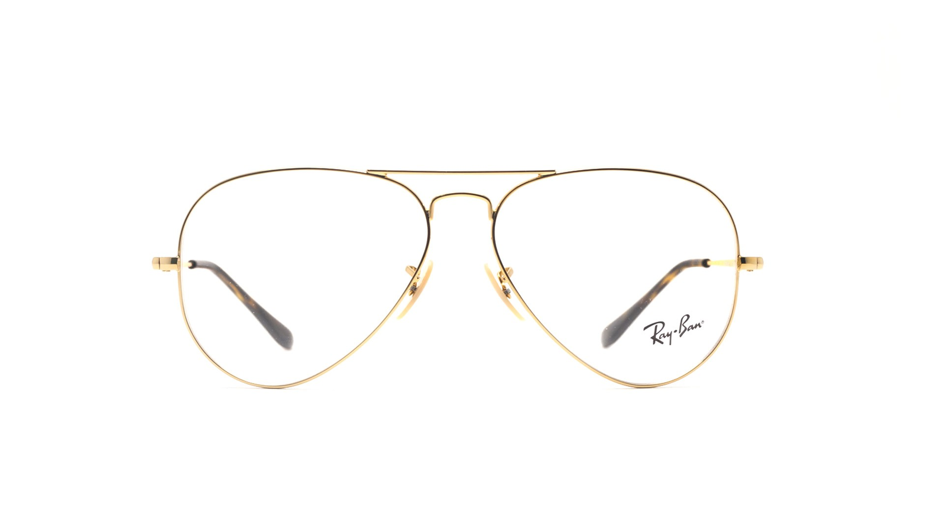 Ray-Ban Aviator Optics Gold RX6489 RB6489 2500 58-14 | Visiofactory