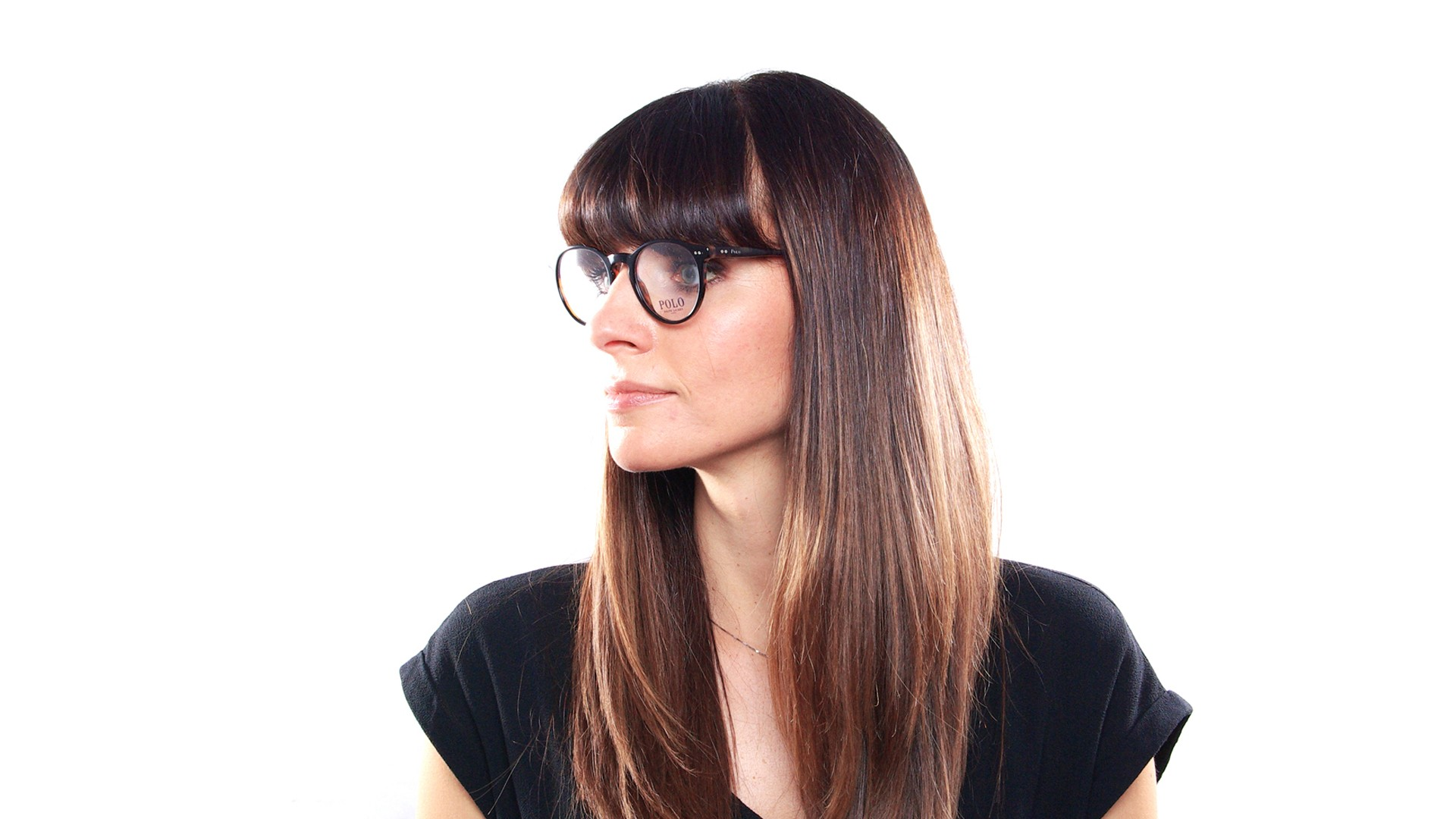 3239129f8026 Eyeglasses Polo Ralph Lauren PH2083 5260 48-20 Black Medium