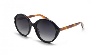 Gucci GG0023S 003 55-22 Noir Large Dégradés