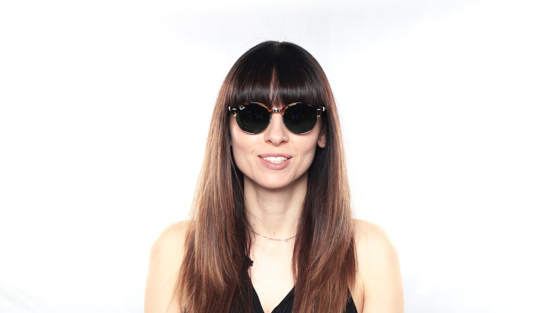 Ray Ban Clubround Black RB4246 1197Z2 51 19 | Visiofactory