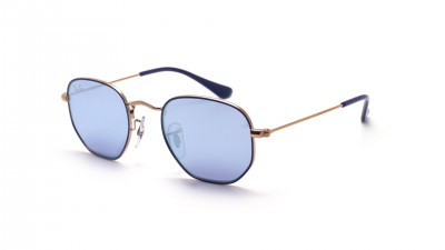 Ray-Ban Hexagonal Flat Lenses Blue RJ9541SN 264/1U 44-19 74,90 €