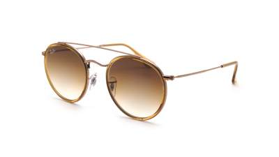 Ray-Ban Round Double Bridge Braun RB3647N 9070/51 51-22 Gradient 117,91 €