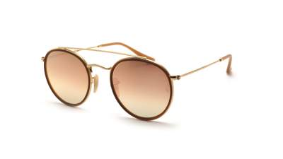 Ray-Ban Round Double Bridge Golden RB3647N 001/7O 51-22 Gradient 101,60 €
