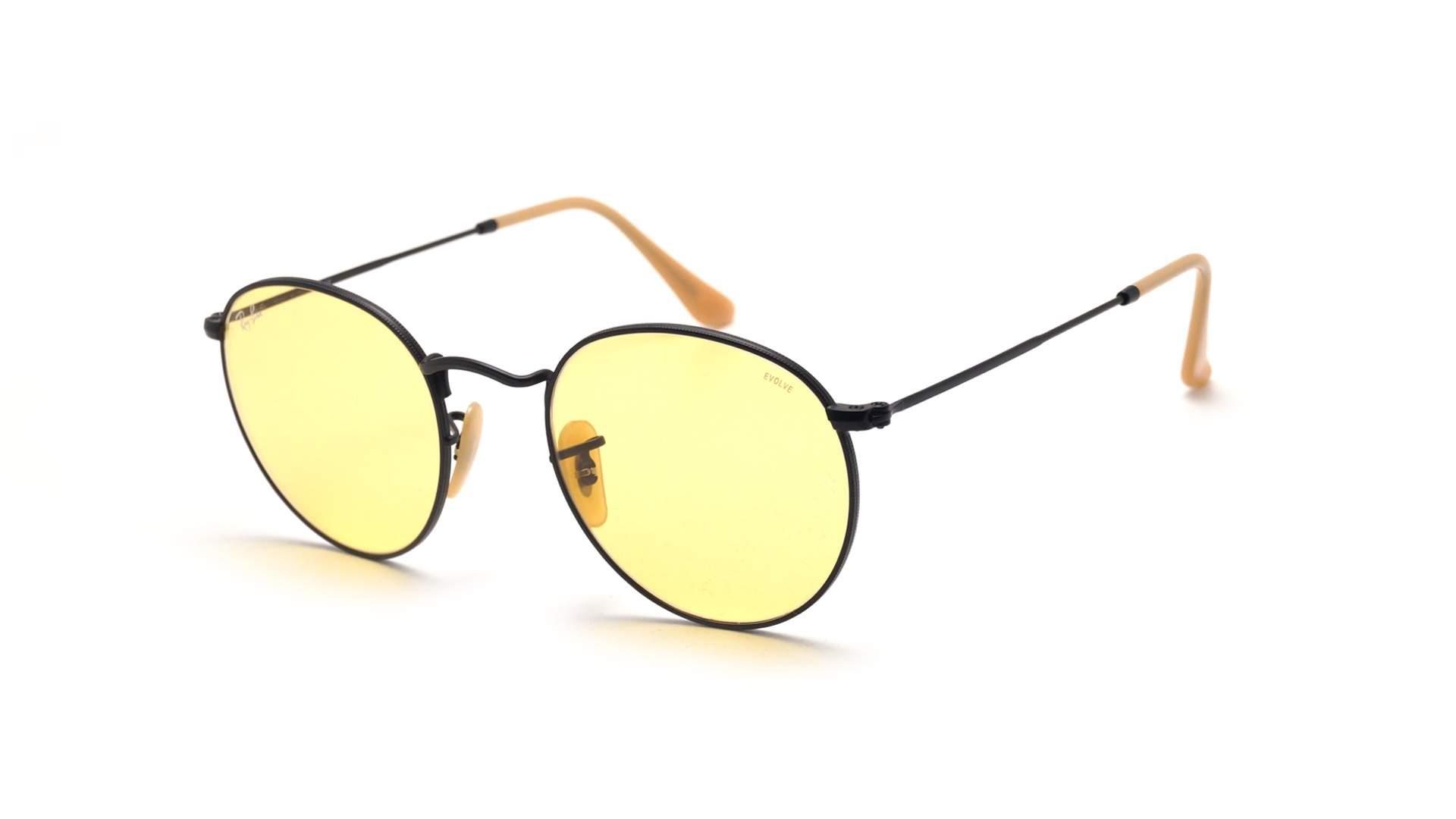 b3893cb4c2 ... new zealand sunglasses ray ban round evolve black matte rb3447 9066 4a  50 21 medium photochromic