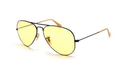 Ray-Ban Aviator Evolve Noir Mat RB3025 9066/4A 58-14 Medium Photochromiques