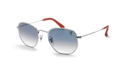 Ray-Ban Hexagonal Scuderia Ferrari Silver RB3548NM F007/3F 51-21