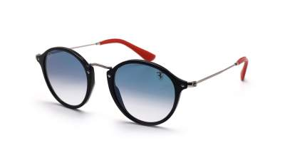 Ray-Ban Round Scuderia Ferrari Black RB2447NM F601/3F 49-21 211,00 €
