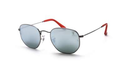 Ray-Ban Hexagonal Scuderia Ferrari Silver RB3548NM F001/30 51-21