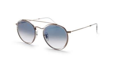 Ray-Ban Round Double Bridge Klar RB3647N 9068/3F 51-22 Gradient 106,01 €
