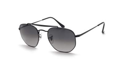 Ray-Ban Marshal Noir RB3648 002/71 54-21 Large Dégradés