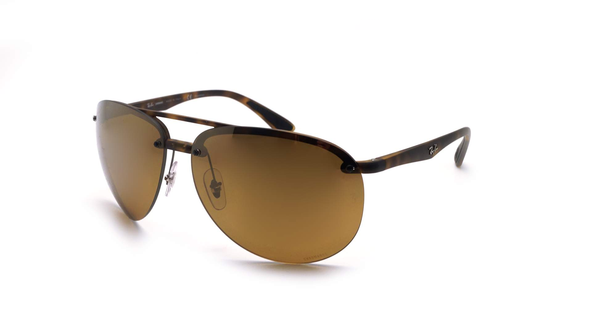b58b6ede16e ... top quality sunglasses ray ban rb4293ch 894 a3 65 13 tortoise matte  chromance large polarized gradient