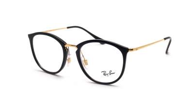 Ray-Ban RX7140 2000 51-20 Schwarz Medium