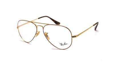 Ray-Ban Aviator Optics Golden RX6489 2945 55-14