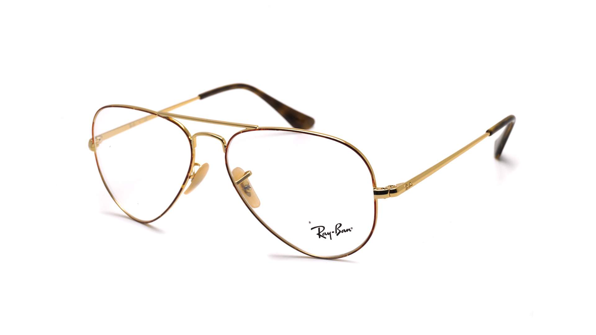 Ray-Ban Aviator Optics Gold RX6489 RB6489 2945 55-14 | Visiofactory
