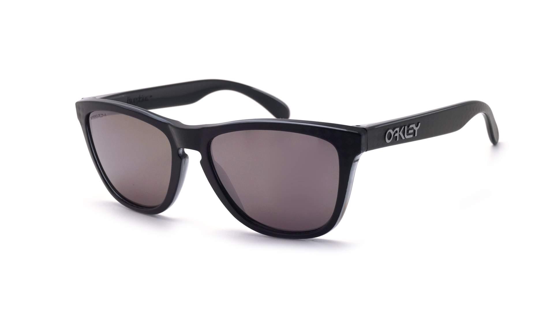 d9273d64c2a ... shop sunglasses oakley frogskins checkbox black matte prizm oo9013 b8  55 17 medium photochromic mirror 34d6d