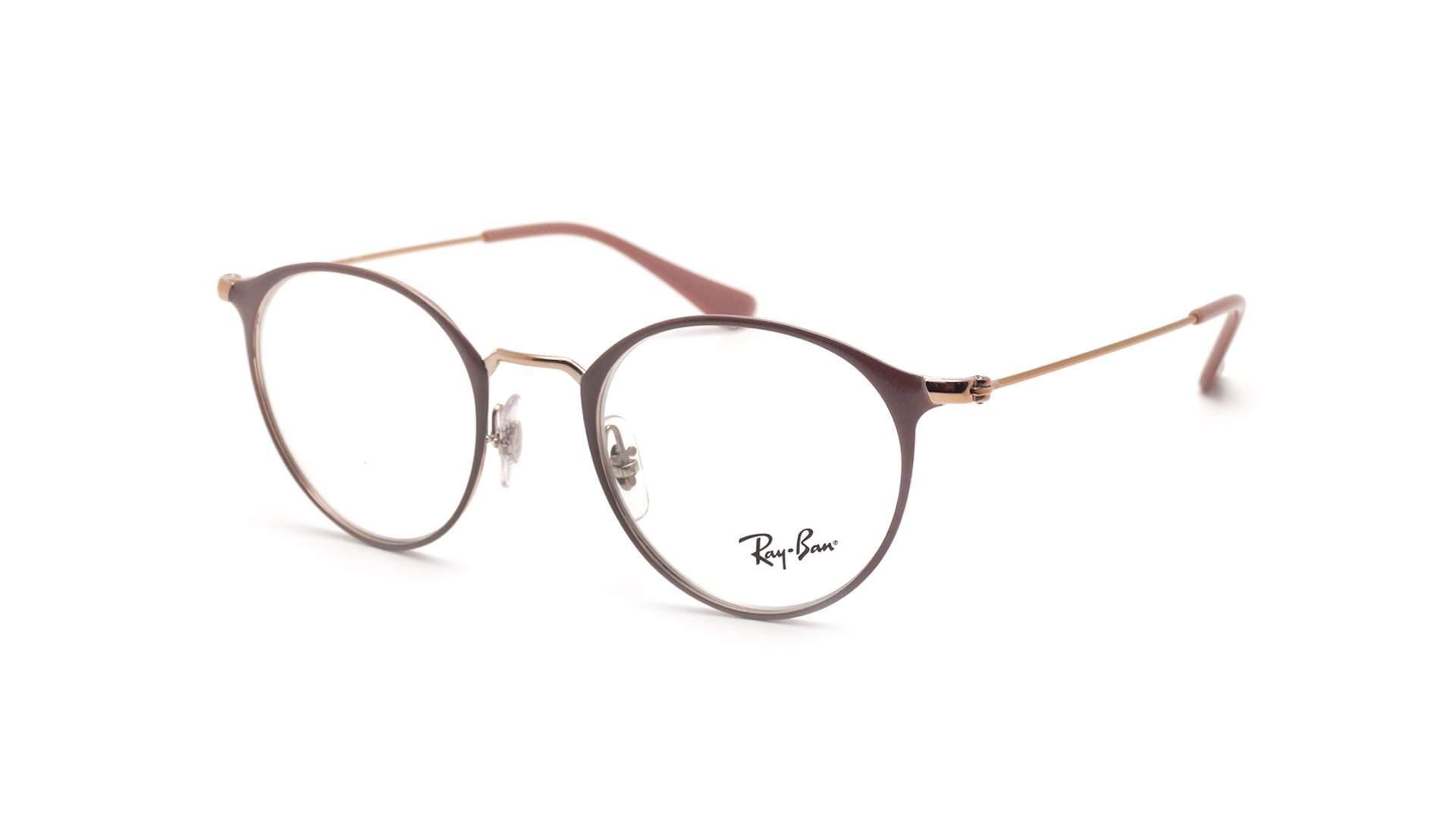lunette de vue ray ban rose