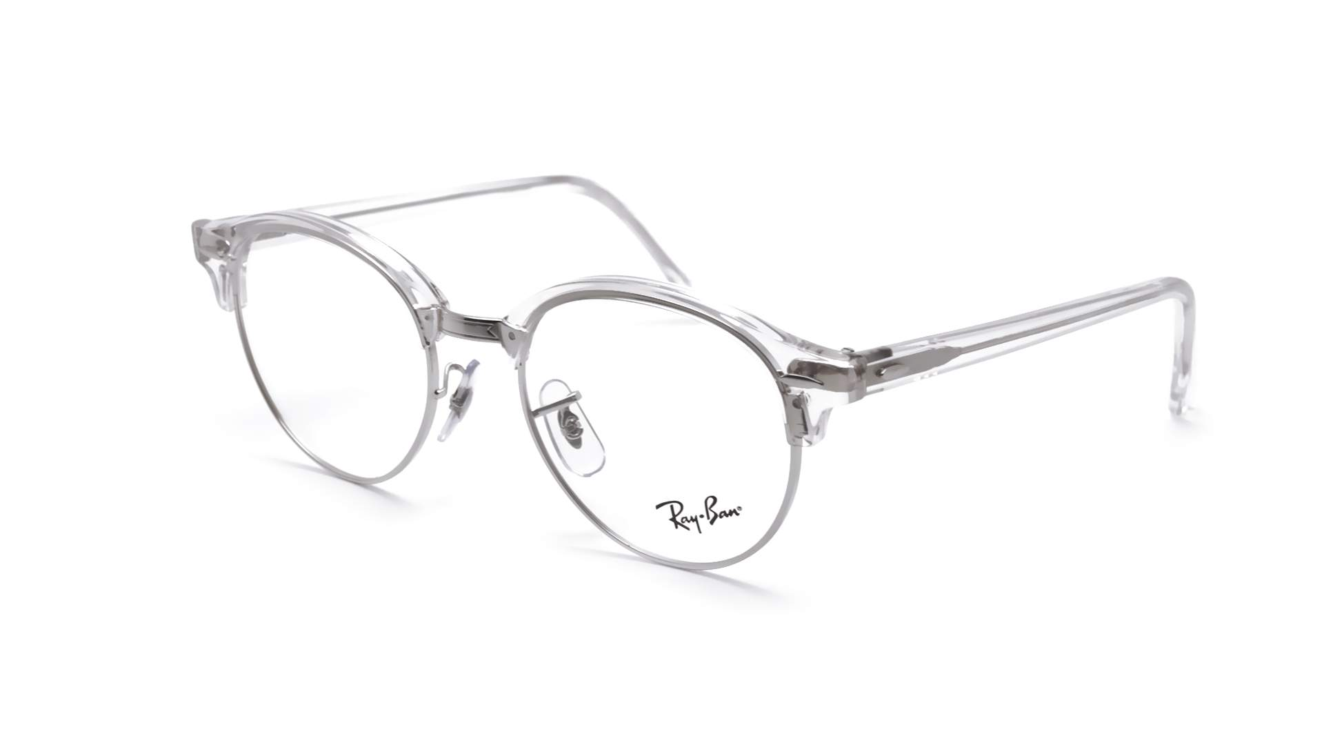 Ray Ban Clubround Silver RX4246 RB4246V 2001 49 19