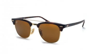 Ray-Ban Clubmaster Double Bridge Tortoise RB3816 990/33 51-21 88,80 €