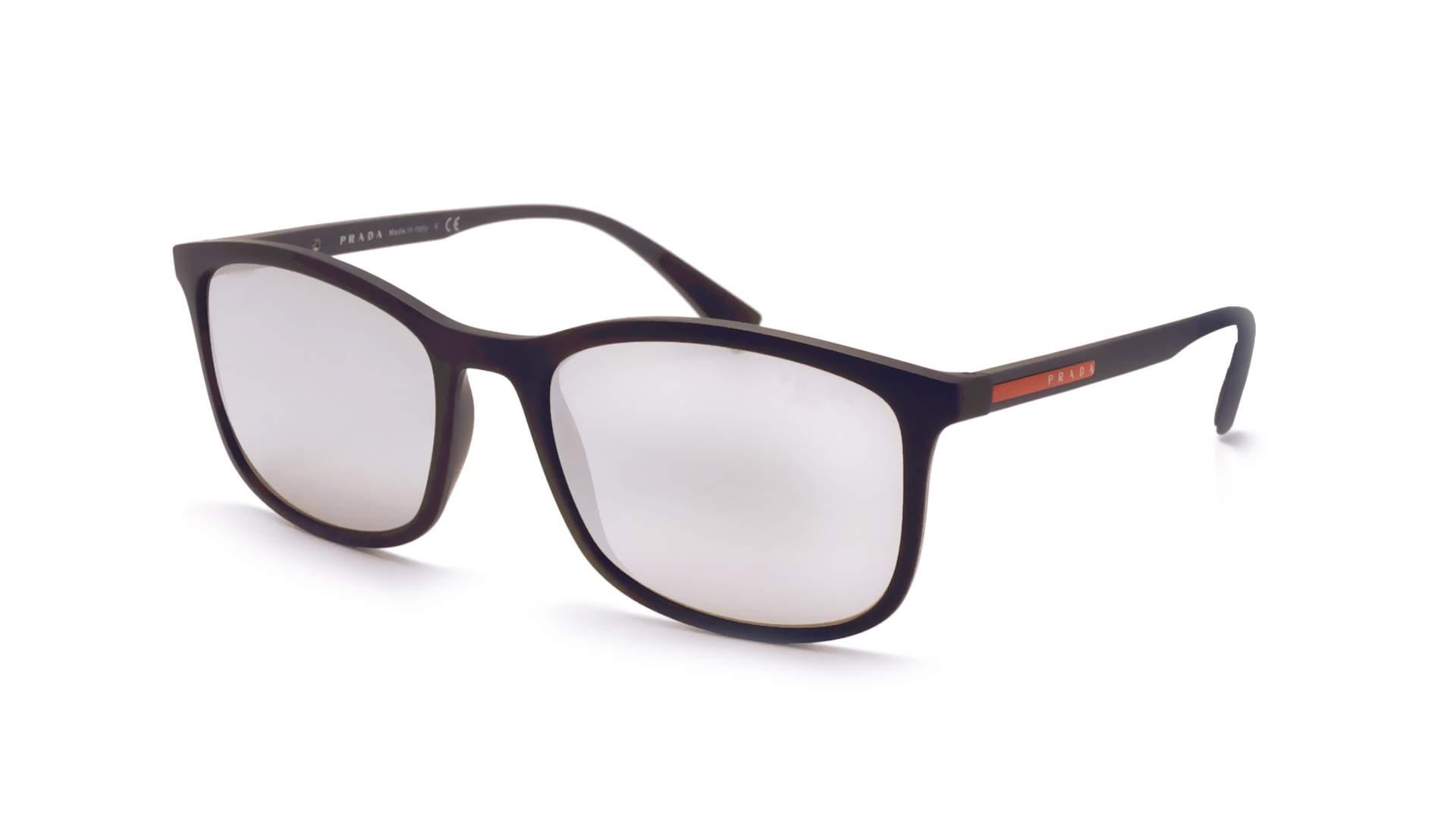 631639619f ... where can i buy sunglasses prada linea rossa ps01ts dg02b0 56 19 black  matte medium mirror