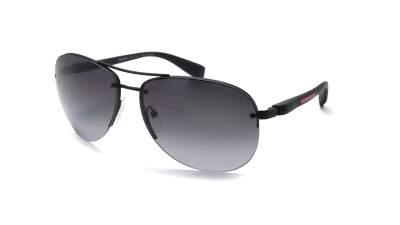 Prada Linea Rossa PS56MS DG05W1 65-14 Schwarz Mat Polarized Gradient 177,41 €