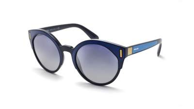 Prada PR03US SUI3AO 53-22 Bleu Medium Dégradés