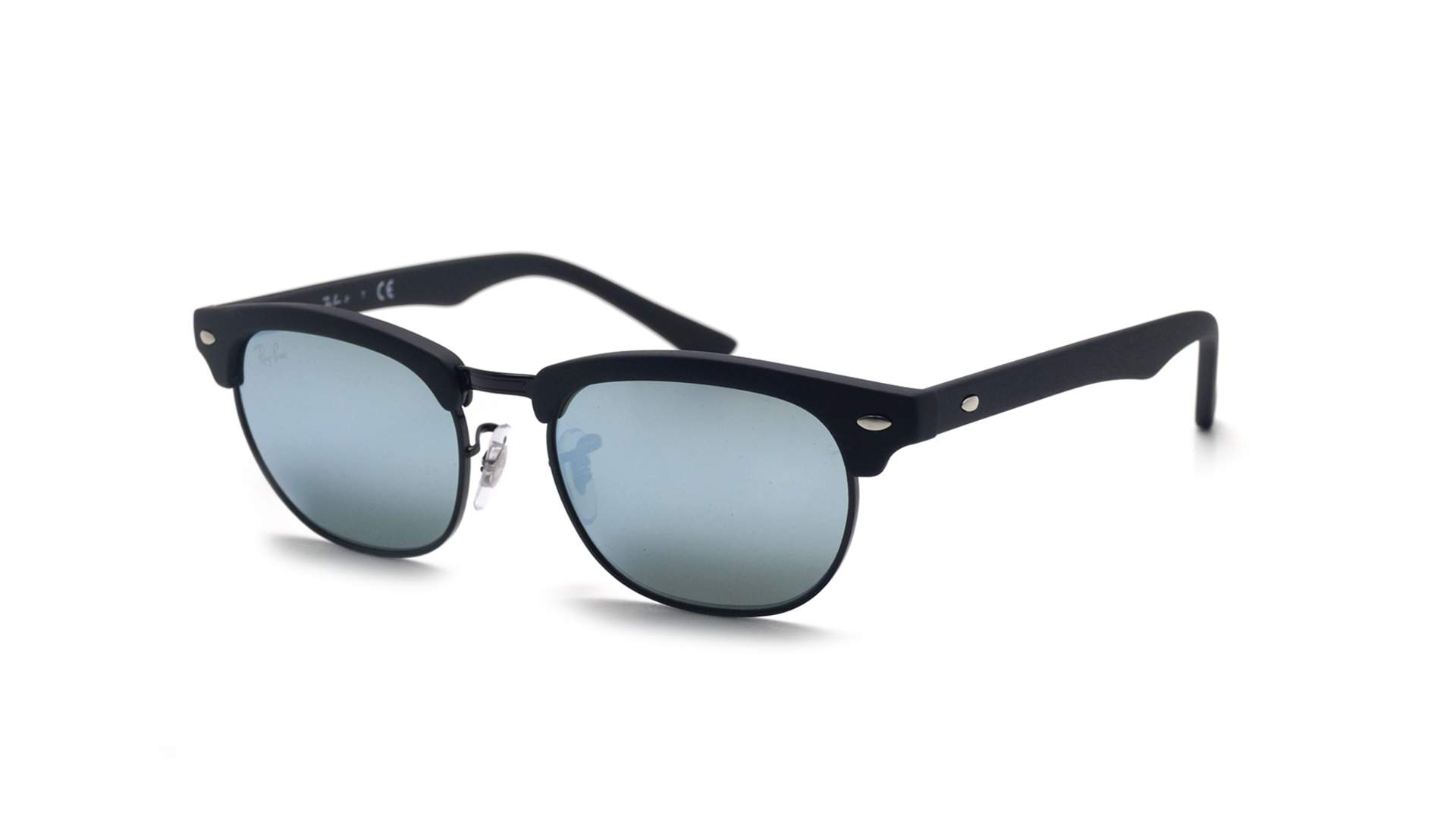 a7aa2829873 ... switzerland sunglasses ray ban clubmaster black matte rj9050s 100s 30  47 16 junior mirror f6d3d 5b8e0