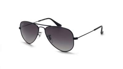Ray-Ban Aviator Black RJ9506S 220/11 52-14 Junior Gradient