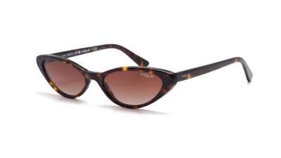 Vogue Gigi hadid Havana VO5237S W65613 52-16 Mittel Gradient Gläser