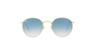 Ray-Ban Round metal Flat Lenses Or RB3447N 001/3F 50-21