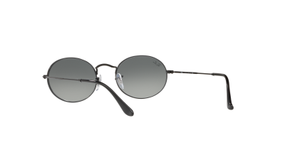 Ray-Ban Oval Flat Lenses Schwarz RB3547N 002/71 51-21