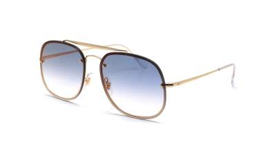 Ray-Ban General Blaze Or RB3583N 001/X0 58-16 Large Dégradés Miroirs