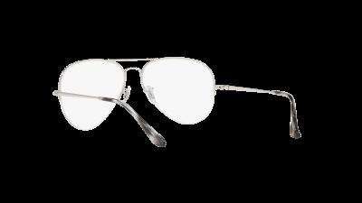 Ray-Ban Aviator Gaze Silver RX6589 RB6589 2501 59-16