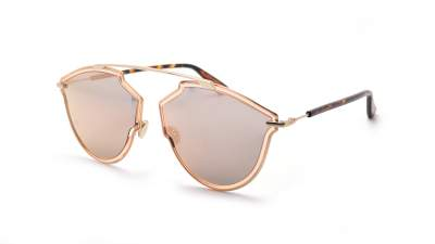 Dior SoReal Rise Rosa DIORSOREALRISE S450J 58-17 Breit Verspiegelte Gläser